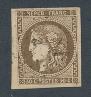 """DP-470: FRANCE: Lot Avec """"BORDEAUX"""" N°47 Obl - 1870 Emission De Bordeaux"""
