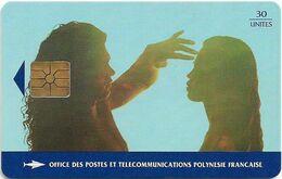 French Polynesia - OPT - Te Nave, La Volupté - Gem1B Not Symmetr. Red, 02.1995, 30Units, 10.000ex, Used - Polynésie Française