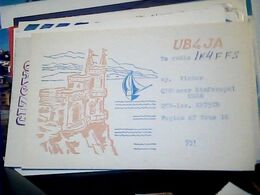 QSL CARD   RADIO AMATORE RUSSIA CRIMEA, SIMFEROPOL  V1985 HQ10065 - Radio Amateur