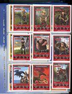 "21 CARTES DRAGONS ""DREAMWORKS""   (18 CARTES NORMALES + 3 CARTES SPECIALES ) - Altre Collezioni"