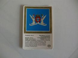 Brasão De Armas De Macau Macao Portugal Portuguese Pocket Calendar 1987/1988 - Calendars