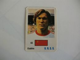 Football Futebol U.R.S.S. Blokhin Portugal Portuguese Pocket Calendar 1986 - Calendars