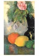Art - Peinture - Paul Cézanne - Fleurs Et Fruits - CPM - Voir Scans Recto-Verso - Paintings