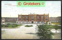 ROTTERDAM Hoogere Burgerschool H.B.S. Sent 1909 From Rotterdam To WETTEREN/ Belgium - Rotterdam