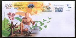 India 2020 Mahatma Gandhi Meter Franking Tumkurpex Special Cover # 7174 Inde Indien - Mahatma Gandhi