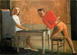 Art - Peinture - Balthus - Das Kartenspiel - The Card Game - Le Jeu De Cartes - Carte Neuve - CPM - Voir Scans Recto-Ver - Malerei & Gemälde