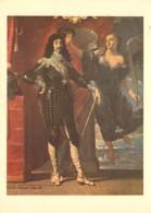Art - Peinture - Histoire - Philippe De Champaigne - Louis XIII Couronné Par La Victoire (Musée Du Louvre) - Carte De La - Historia