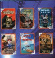 "40 CARTES THE LAPINS CRETINS ""CARREFOUR RUSH / PANINI"" - Altre Collezioni"
