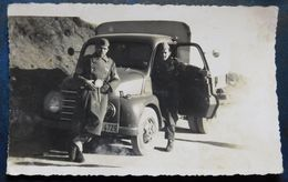JNA - Saobracajna Vojna Policija - Traffic Military Police - Vintage Truck - Camion, Tir