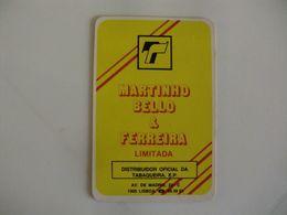 Drink Torrefaction Coffee Café Caffe Martinho Bello & Ferreira Portugal Portuguese Pocket Calendar 1990 - Small : 1981-90
