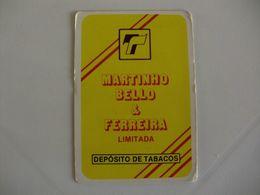Drink Torrefaction Coffee Café Caffe Martinho Bello & Ferreira Portugal Portuguese Pocket Calendar 1987 - Small : 1981-90