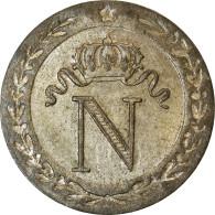 Monnaie, France, Napoleon I, 10 Centimes, 1808, Paris, SUP, Billon, Gadoury:190 - France