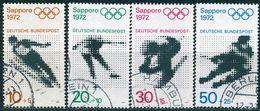 BRD - Mi 680 / 683 ⨀ (A) - Olympiade 72 III - Gebraucht