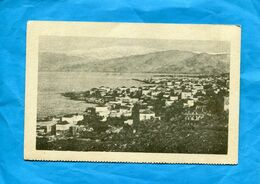 LIBAN-BEYROUTH-Vue De La Ville Du Port Et De La Rade-années 30 Carte Des Escales De La Cie FABRE - Libano