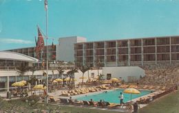 South Hampton Bermuda - Carlton Beach Hotel - Written 1963 - Stamp Postmark - 2 Scans - Bermuda