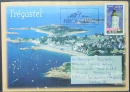 France - Stationery Cover 2006 Lighthouse 0,53€ Solo Perros Guirec Bird Trégastel - France