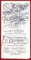 PORTUGAL - LISBOA - FABRICA ANCORA - PRECARIO PARA EXPORTACAO - 1917 - Publicidad
