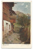 XW 3694 Gebirgsidylle - A. Ferraris - Dipinto Paint Peinture - Peintures & Tableaux