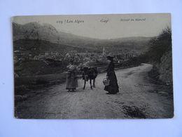 CPA  05  GAP Retour Du Marché 1908 TBE - Gap