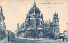 BRUXELLES - Eglise Sainte Marie - Monumenti, Edifici