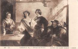 LESLIE - Florizel And Perdita - Victoria And Albert Museum - London. - Peintures & Tableaux