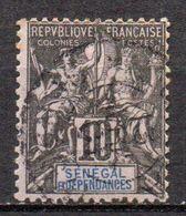 Col17  Colonie Sénégal N° 12 Oblitéré  Cote 8,00€ - Gebruikt