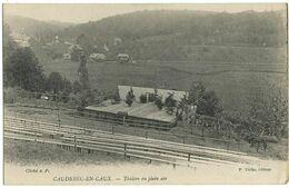 CAUDEBEC-EN-CAUX (76) –Théâtre En Plein Air. Cliché A.P. / P. Védie, éditeur. - Caudebec-en-Caux