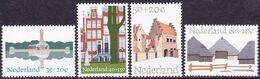 20-070 Nederland 1975 Architectural Heritage Complete Set 1068-1071 MNH ** - Architecture