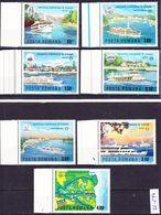 20-074 Romania 1977 Danube Commission Complete Set 3484-3490 MNH ** - Maritime