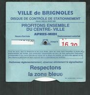 Disque De Stationnement De La Ville De Brignoles (Var) - Other