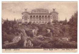 Romania Bucuresti Parcul Regele Carol I - Taiat Pe Margini - Cut On Margins - Postales