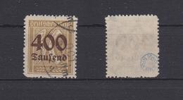 Deutsches Reich 299 Gestempelt Geprüft Infla Berlin, Used #R629 - Duitsland