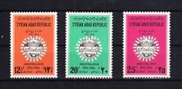 Syrien 884-886 ** Postfrisch Arabische Postunion, MNH #RB559 - Siria