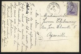 Belgique - Obl.fortune 1919 - N°139 Sur Carte Obl MARCHIENNE-AU-PONT Année Grattée Vers Aywaille - Non Classificati