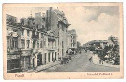 Romania Ploiesti Bulevardul Ferdinand I - Postales