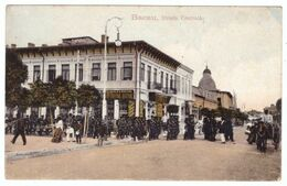 Romania Bacau Strada Centrala Armata Military Parade - Postales