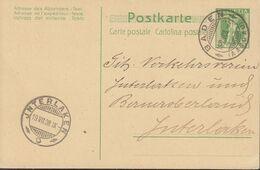 SCHWEIZ  MiNr. P 34 Mit Stempel: Baden 18.VII.1908 - Sin Clasificación