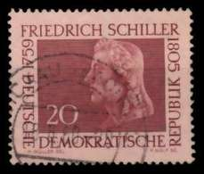 DDR 1959 Nr 734 Zentrisch Gestempelt X8B8BE2 - [6] República Democrática