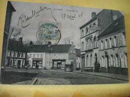 62 730 CPA 1906 - 62 LICQUES. PLACE D'EN BAS - ANIMATION. - France