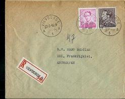 Doc. De VILVOORDE - A 5 A - Du 23/03/66 En Rec. ( E ) - Marcophilie