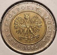 5 Zlote (Zlotych) Pologne (Polen-Polska) 1994 - Bi-metal - Polen