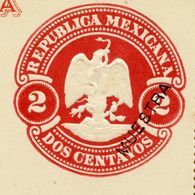 Mexico Letter Card With Reply MEPSI #LC24S MUESTRA 1899 - Timbres