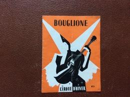 PROGRAMME CIRQUE  CIRQUE BOUGLIONE  Cirque D'Hiver  SAISON 1951-1952  @ - Non Classificati