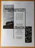 1931 Carburateur Zénith D'après E. Maurus  - Publicité - Publicidad