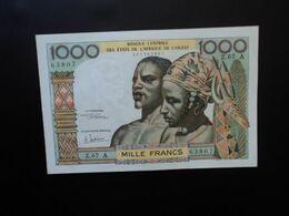 CÔTE D'IVOIRE * : ÉTAT DE L'AFRIQUE DE L'OUEST :  1000 FRANCS  ND (1969-70)  Sign.6   P 103Ag / K.239a     SUP - Ivoorkust