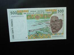 CÔTE D'IVOIRE * : ÉTAT DE L'AFRIQUE DE L'OUEST :  500 FRANCS   (19)95  P 110Ae      NEUF - Ivoorkust