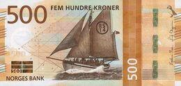 NORWAY P. 56 500 K 2018 UNC - Noorwegen