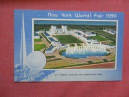 Federal Building   New York World's Fair  1939-------- Ref 4276 - Ausstellungen
