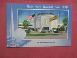 Adminstration L Building   New York World's Fair  1939-------- Ref 4276 - Ohne Zuordnung