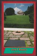 Postcard - USA - Circa 1970 - John F. Kennedy Grave Site - Non Circulee - A1RR2 - Arlington